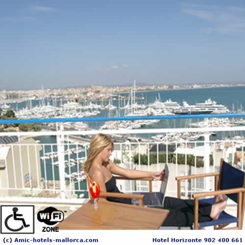 Hotel Horioznte en Palma de Mallorca con Wi Fi Gratis